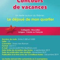 Concours de vacances à C3 éditions